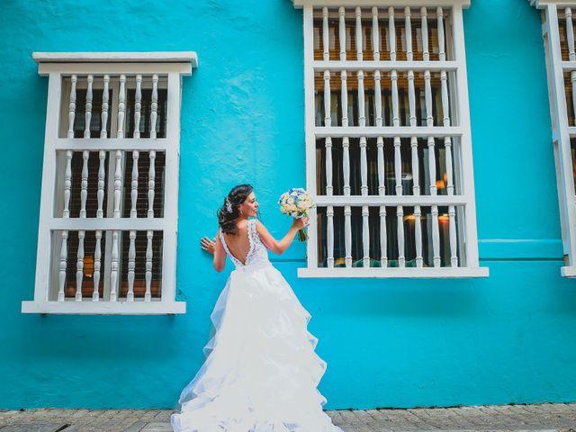 El matrimonio de Andrés y Carolina en Cartagena, Bolívar 16