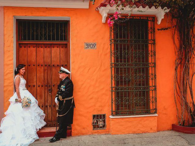 El matrimonio de Andrés y Carolina en Cartagena, Bolívar 1