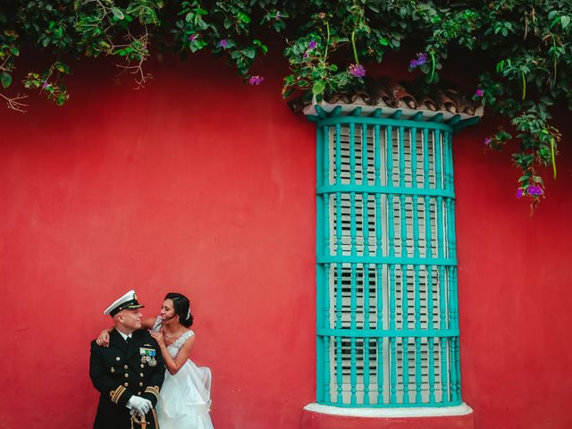 El matrimonio de Andrés y Carolina en Cartagena, Bolívar 2