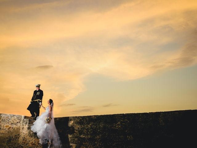 El matrimonio de Andrés y Carolina en Cartagena, Bolívar 18