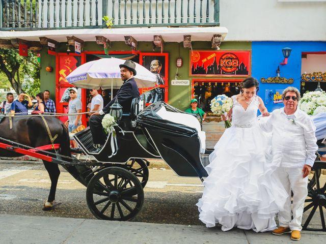 El matrimonio de Andrés y Carolina en Cartagena, Bolívar 40