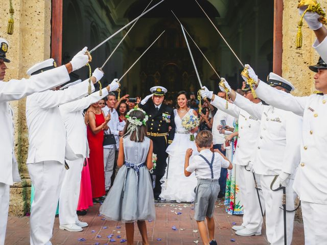 El matrimonio de Andrés y Carolina en Cartagena, Bolívar 42