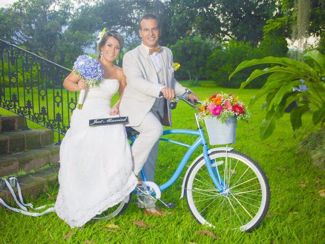 El matrimonio de Jenny y Luis Fernando