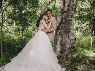 El matrimonio de Daniela y Alexander 1