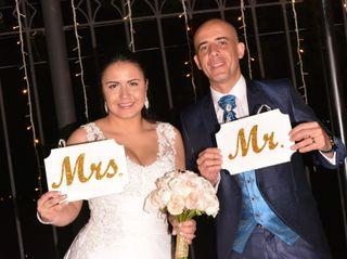 El matrimonio de Viviana  y Alejandro