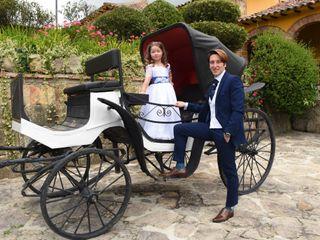 El matrimonio de Paula y Santiago 1