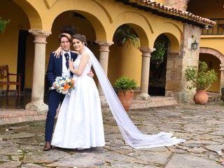 El matrimonio de Paula y Santiago