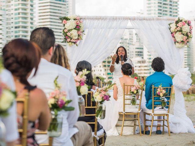 El matrimonio de Fabio y Beatriz en Cartagena, Bolívar 18