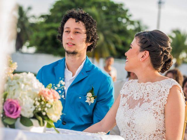 El matrimonio de Fabio y Beatriz en Cartagena, Bolívar 19