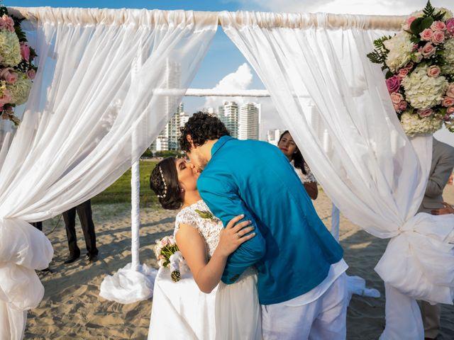 El matrimonio de Fabio y Beatriz en Cartagena, Bolívar 22
