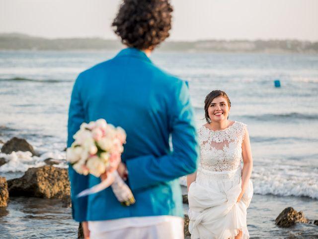 El matrimonio de Fabio y Beatriz en Cartagena, Bolívar 33