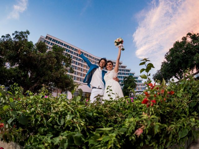 El matrimonio de Beatriz y Fabio