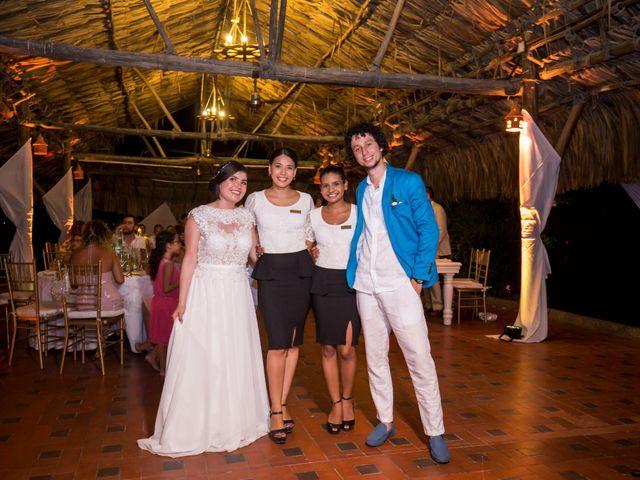 El matrimonio de Fabio y Beatriz en Cartagena, Bolívar 38