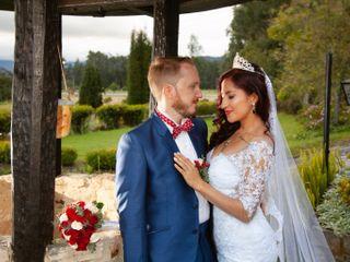 El matrimonio de Laura y Sean