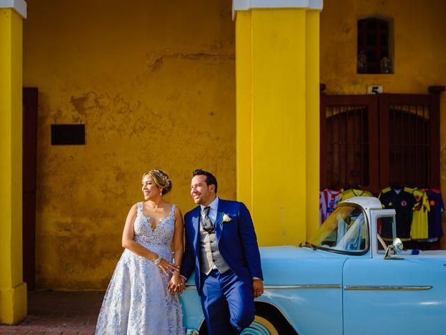 El matrimonio de Daniel  y Zamira  en Cartagena, Bolívar 6