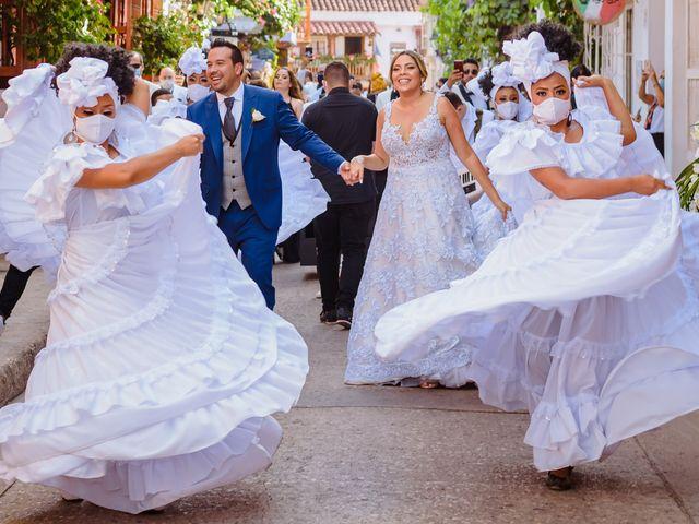El matrimonio de Daniel  y Zamira  en Cartagena, Bolívar 8
