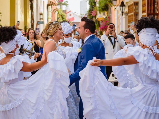 El matrimonio de Daniel  y Zamira  en Cartagena, Bolívar 9