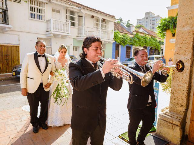 El matrimonio de Daniel  y Zamira  en Cartagena, Bolívar 10