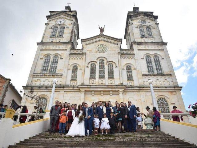 El matrimonio de Braian y Alix en Boyacá, Boyacá 27
