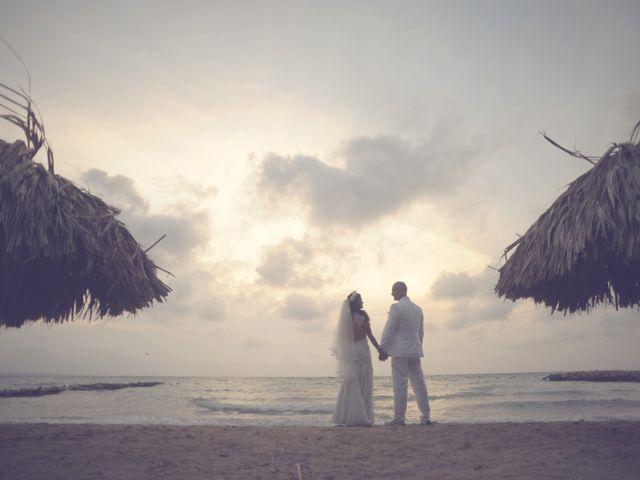 El matrimonio de Raul y Ginna en Cartagena, Bolívar 11