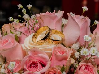El matrimonio de Farid y Paola 1