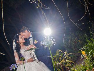 El matrimonio de Farid y Paola