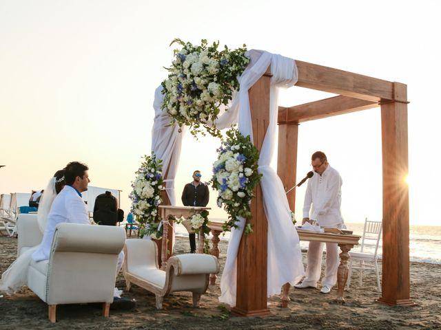 El matrimonio de Luis Fernando y María Alejandra en Cartagena, Bolívar 18