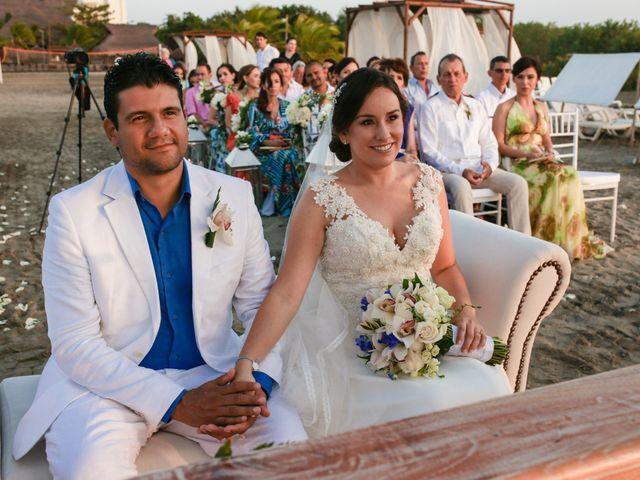 El matrimonio de Luis Fernando y María Alejandra en Cartagena, Bolívar 21