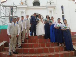 El matrimonio de Lizeth y Jonathan