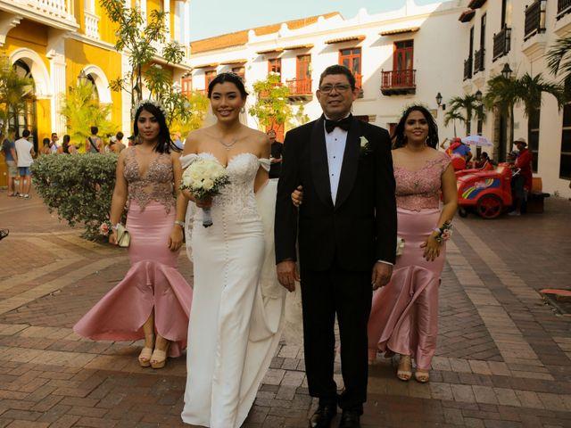 El matrimonio de Jam y Blanca en Cartagena, Bolívar 15