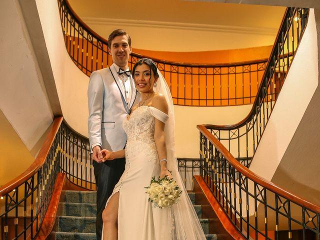 El matrimonio de Blanca y Jam