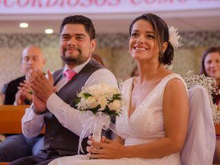 El matrimonio de Diana y Francisco