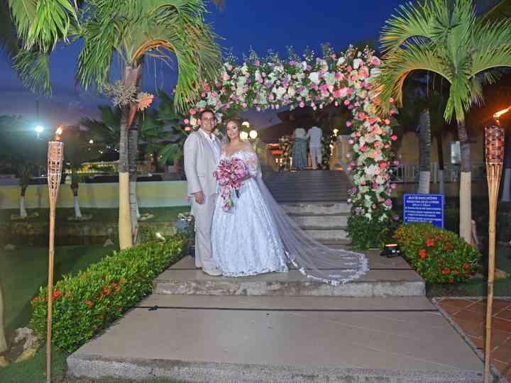 El matrimonio de Karen y Roger