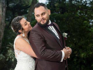 El matrimonio de Andrea y Kevin