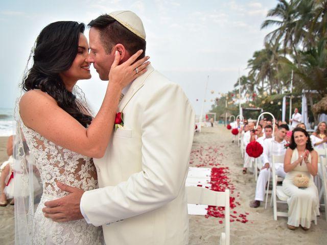 El matrimonio de Alejandro y Beatriz en Santa Marta, Magdalena 9