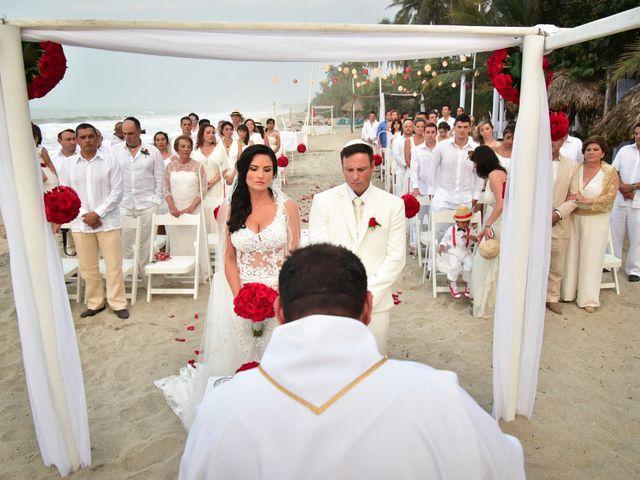 El matrimonio de Alejandro y Beatriz en Santa Marta, Magdalena 13