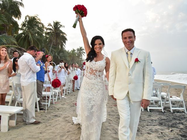 El matrimonio de Alejandro y Beatriz en Santa Marta, Magdalena 21