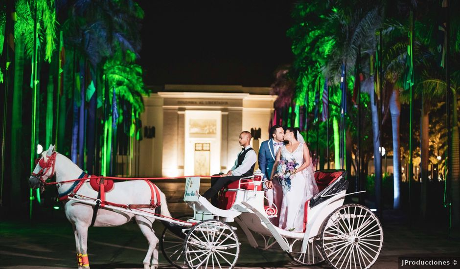 El matrimonio de Jahir y Judit en Santa Marta, Magdalena