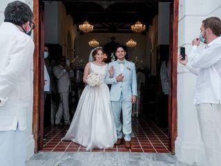 El matrimonio de Daniela y Ernesto