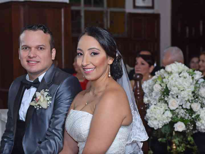 El matrimonio de Angélica y Frank
