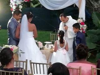 El matrimonio de María del Carmen y Branly 1