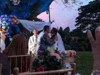 El matrimonio de María del Carmen y Branly