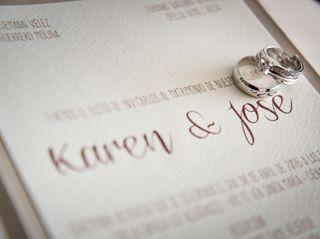El matrimonio de Karen y José 1