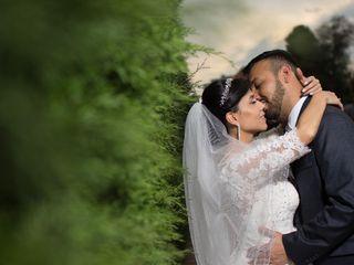 El matrimonio de Angélica y Fidel