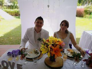 El matrimonio de Lyna y Héctor