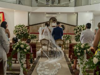 El matrimonio de Samuel y Natalia 2