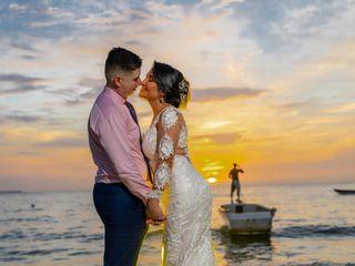 El matrimonio de Samuel y Natalia