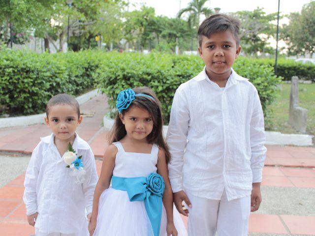El matrimonio de Alexander y Karen en Cartagena, Bolívar 23