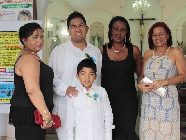 El matrimonio de Alexander y Karen en Cartagena, Bolívar 24