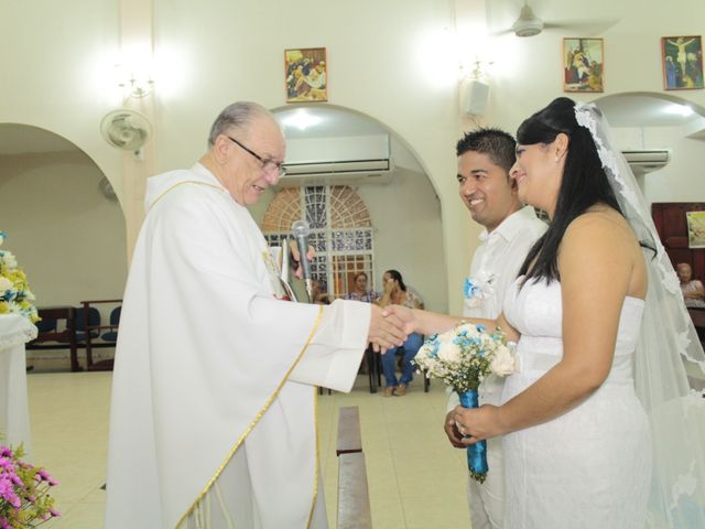 El matrimonio de Alexander y Karen en Cartagena, Bolívar 33